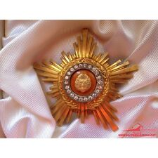 SOVIET MEDAL USSR ORDEN ROMANIA ORDER OF THE STAR OF RSR CLASS II WITH BOX VHTF!