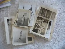 VINTAGE LOT OF 35 PHOTO SNAPSHOTS OF GIRLS IN SWIMSUITS BIKINIS 1920'S TO 1960'S