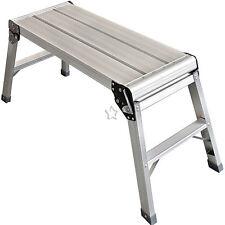 Step Platform Full Size 70cm Work Plate Ladder Bench Decorators Hop up EN131