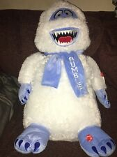 Rudolph the Red Nosed Reindeer Abominable Snowman Big Bumble Singing Plush New