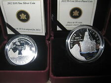 Canada 2012 Titanic $10 Fine Silver and 50-Cent Silver Plated Coins!