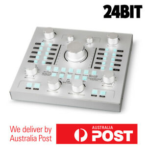 External Sound Card 24 bit Digital Audio Interface for Streaming & Podcast