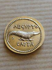REPRODUCTION EN OR NORDIQUE  Octavian  Denarius AEGVPTO CAPTA Auguste