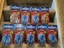 Masters of the Universe Origins He-Man Skeletor Figures MOTU 2020 New? Lot of 9