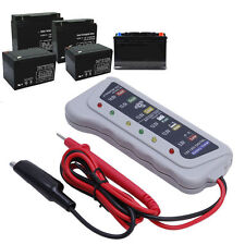 12V 6 LED Display Battery Tester Car Batter / Alternator Monitor Device