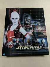 Star Wars Masterpiece Edition Aurra Sing Dawn of Bounty Hunters Figure & Book