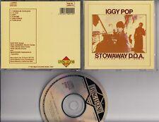 IGGY POP Stowaway D.O.A. Featuring DAVID BOWIE LIVE 1977 CD LLRCD 112