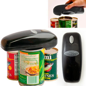 As Seen on TV Handy Can Opener (Black) Battery-Operated Auto Hands-Free Opener