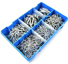 500 (1.3kg) ASSORTED GALVANISED NETTING FENCING STAPLES U NAIL CHICKEN FENCE KIT
