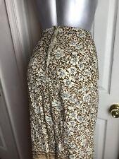 The Avenue Collection Woman's Floral Wrap Beige Tan Skirt Womens PLUS SIZE Sz 22
