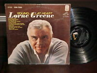 """Lorne Greene """"Young At Heart"""" LP RCA Victor Stereo 1963"""