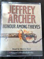 Jeffrey Archer Honour Amongst Thieves Audio Casette Book