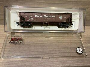 N Scale Atlas 70 Ton Hart Ballast Car Great Northern 34784-5 GN 78227- Hopper