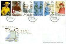 IOM 29 OCTOBER 2001 QUEENS GOLDEN JUBILEE FIRST DAY COVER DOUGLAS SHS