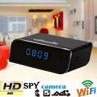 Wireless Wifi IP Full HD 1080P Clock Spy Hidden Camera IR Security EW