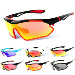 Polarized Cycling Biker Glasses Casual Bicycle Sports Outdoor Sunglasses UV400