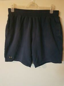UNDER ARMOUR  Fleece Jogging Bottom Style Shorts In Blue L OR XL see description