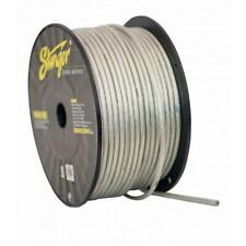 NEW STINGER PRO SHW18C 8 GAUGE CLEAR OFC POWER GROUND WIRE CABLE 250 FOOT ROLL