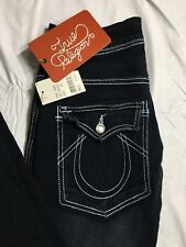 True Religion Billy Big T Womens Size 26 Bootcut Distressed Stretch Jeans $319
