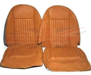 New Pair of Seat Covers  Upholstery Triumph Spitfire 1973-1980 Made in UK Beige