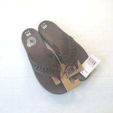 Nike Men Kepa Kai Thong Leather Sandal - BV9224 - Brown 200 - Size 11 - NEW
