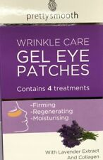PRETTY SMOOTH WRINKLE CARE GEL EYE MASK 4 TREATMENTS WITH LAVENDER EXTRACT