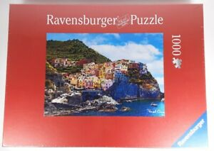 Ravensburger View of Cinque Terre Italy 1000 Piece Jigsaw Puzzle - NEW & SEALED