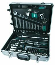 Werkzeugkoffer Werkzeugkasten Trolley Werkzeugtrolley Werkzeugbox Alu 159-tlg.