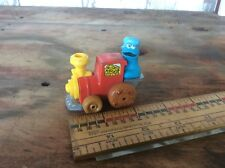Vintage 1981 Cookie Monster Metal Train , Muppets Inc.