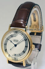 Breguet Classique 18k Gold Watch Box/Papers 5197 + Deployant Buckle Upgrade