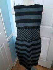 Cache Stripe Dress Wide Waist 12