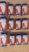 Maxim LED GLS Bulbs 6w 10w 16w BC B22 ES E27 Warm Cool Day White 40w 60w 100w