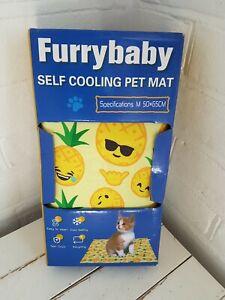 New Pet Cooling Mat Dog / Cat Gel Mat Pads Pet Cool Beds Small 65cm x 50cm Boxed