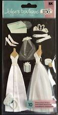 "Jolee's Boutique ""Wedding Gown"" Dimensional Stickers"