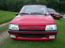 Peugeot 205 Gti PAIR Clear FRONT Indicators LIGHTS LAMPS FLASHER LENS NEW XS
