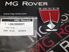 GENUINO RARO ROVER 75 (FACELIFT) DELANTERO LOGO PARA PARRILLA DAD000021