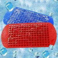 160 Grids DIY Kreative Eiswürfelform Quadratische Form Eiswürfelschale Sili R9P6