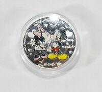Disney Mickey Mini Mouse New Zealand collectible Silver coin 1 oz. .999 fine sil