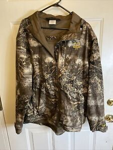 Real Tree Max-1 XT Insulated JACKET Mens Large Wind Proof Camouflage Hunting