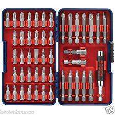 Bosch Screwdriver Bit Set 47 Piece w/ Storage Case T4047 NEW
