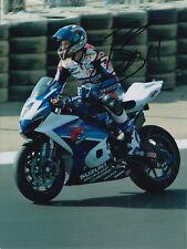Ben Spies Hand Signed 8x6 Photo - World Superbikes Autograph WSBK.
