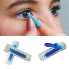 Portable Contact Lens Inserter For Hard /RGP and Soft Remover Halloween Blue BA
