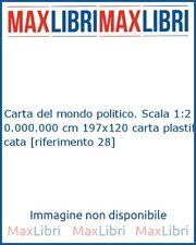 Carta del mondo politico. Scala 1:20.000.000 cm 197x120 carta plastificata [rife