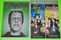 Horror Comedy DVD Lot - The Munsters Family Portrait (New) The Addams Family