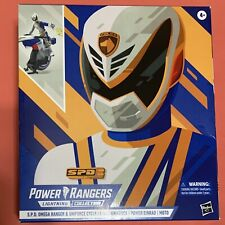 Power Rangers Lightning Collection SPD OMEGA RANGER with UNIFORCE CYCLE VEHICLE