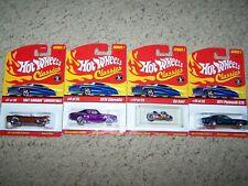 Hot Wheels Classics 4 car assortment Moc!