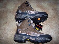 Wolverine Hiking Shoes Camo Boots Vibram Sole Water Proof Shoes 8.5 Hunting Boot
