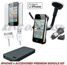 7 X ACCESSORY PREMIUM BUNDLE KIT FOR IPHONE 4 4S 16GB 32GB - Mobile & PDA Acc.