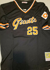 4c9c2b49e Throwback Barry Bonds San Francisco Giants Retro Replica Mens XL Baseball  Jersey