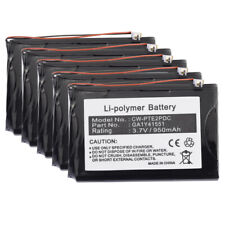 5 Pack of New Replacement Batteries for Palm Tungsten E2 PDA GA1Y41551